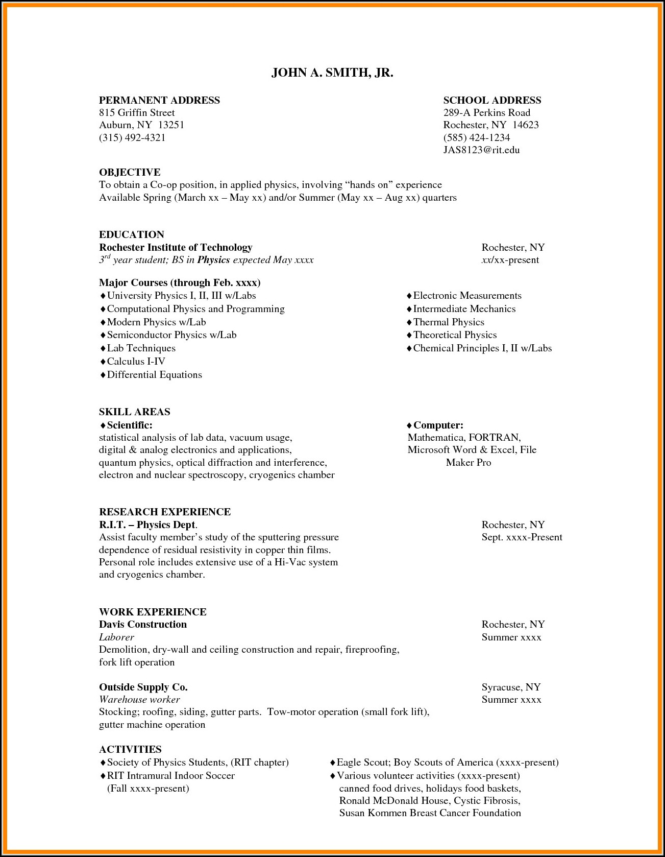 Medical Billing And Coding Resume Templates