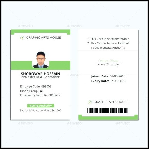 Pvc Id Card Template Epson
