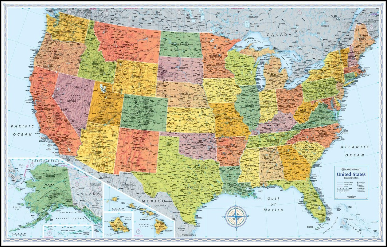 Rand Mcnally Wall Maps