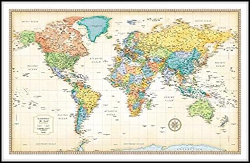 Rand Mcnally World Map