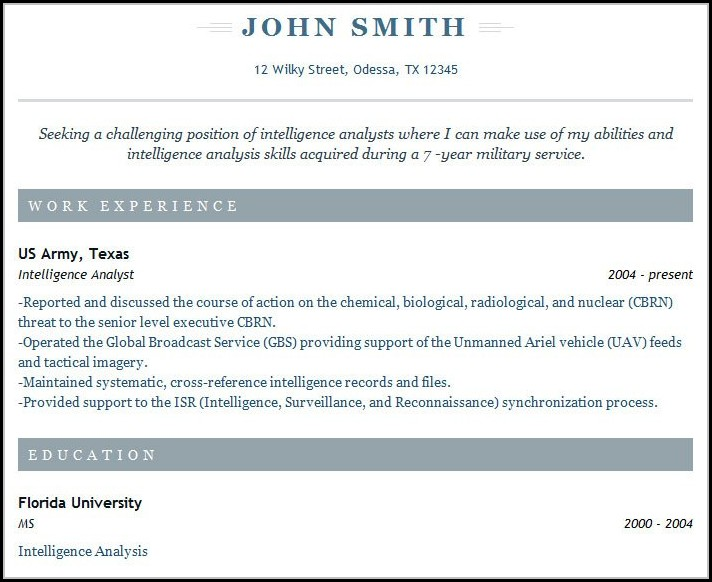 Resume Builder Free Download