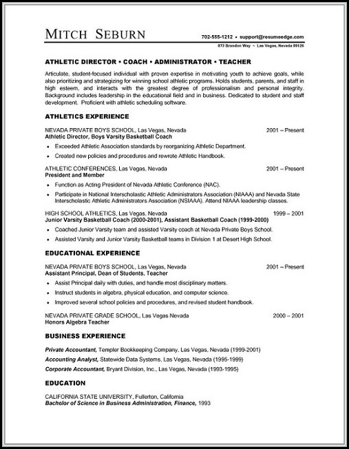 Resume Templates For Microsoft Word 2007