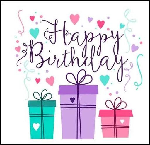 Birthday Greeting Card Templates