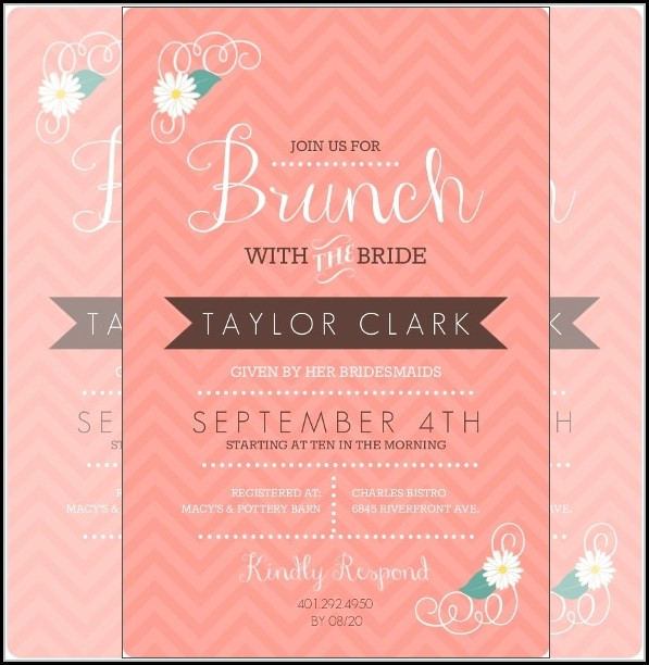 Birthday Lunch Invitation Template