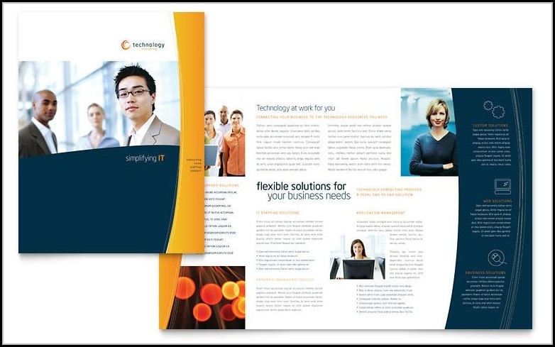Brochure Templates Free Download For Publisher