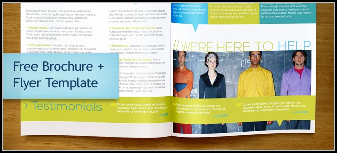 Business Brochure Templates Publisher