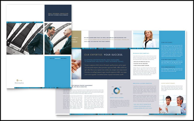 Business Brochure Templates Word