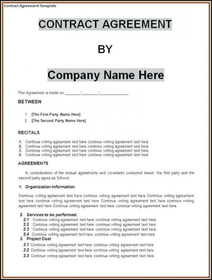 Business Partnership Agreement Template Uk