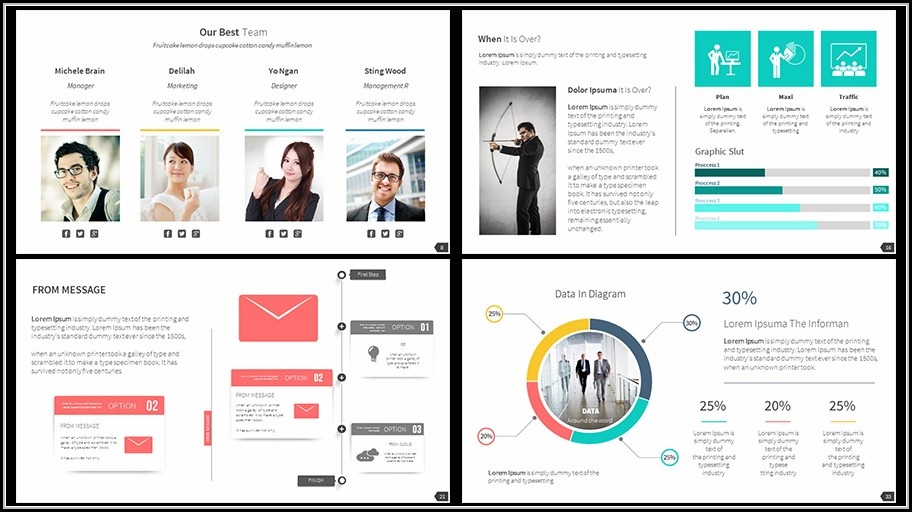 Business Proposal Powerpoint Template Free Download