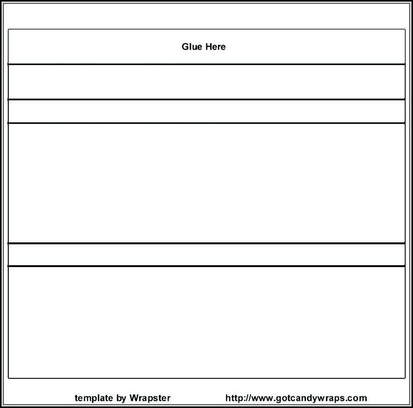 Candy Bar Wrapper Template For Word