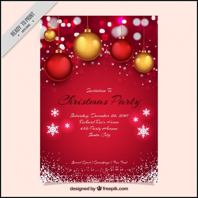 Christmas Flyer Template Free Word
