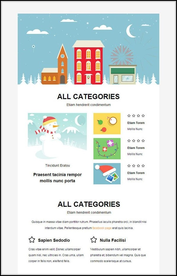 Christmas Newsletter Template With Pictures