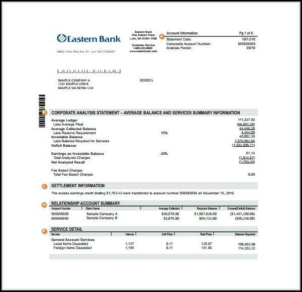Create Fake Bank Statement Template