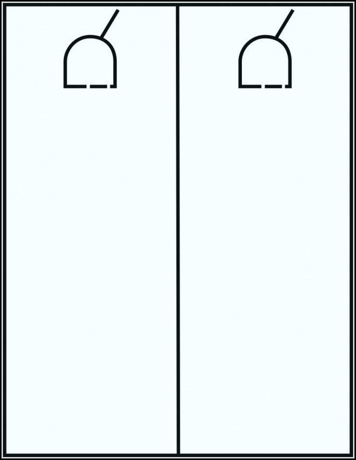 Door Hang Tag Template