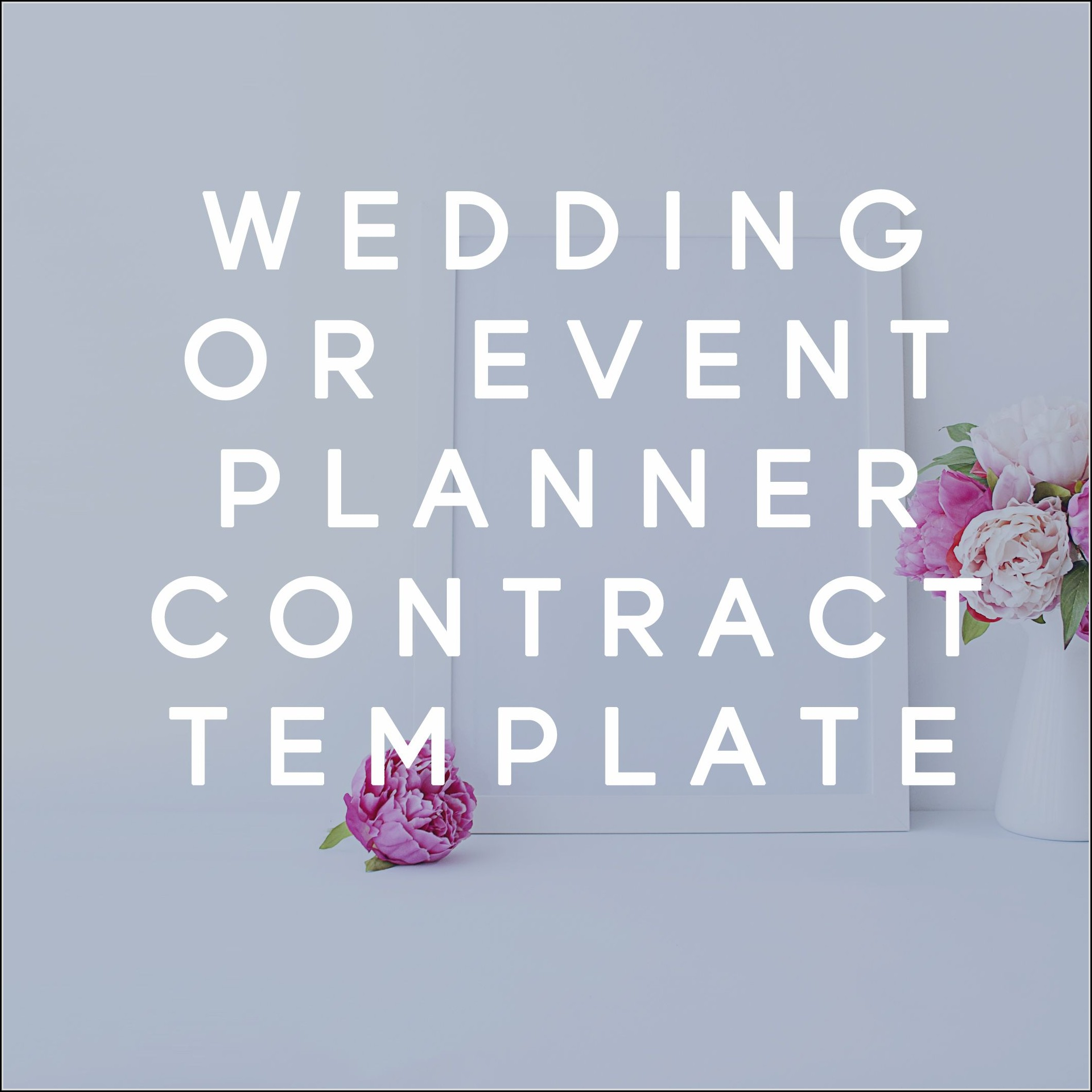 Event Planner Client Contract Template