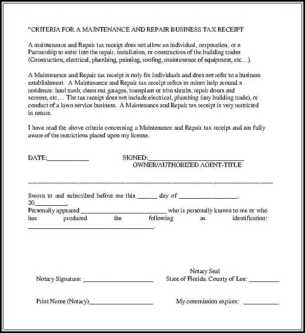 Free Printable Notary Forms