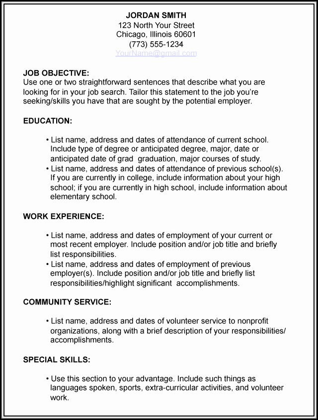 How To Prepare A Resume For Job Interview