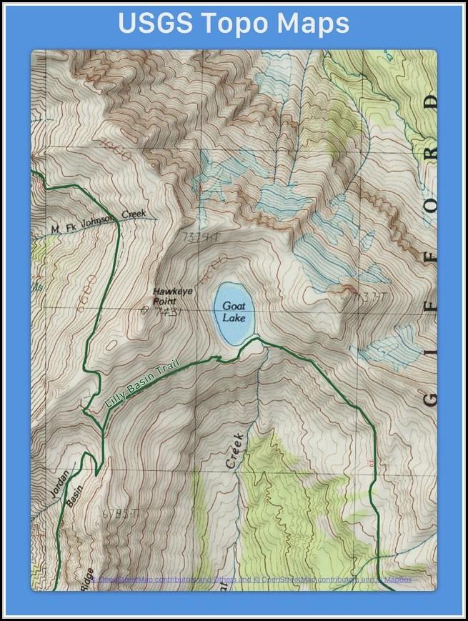 Lake Topo Maps App