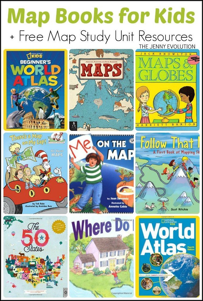 Map Books For Kids