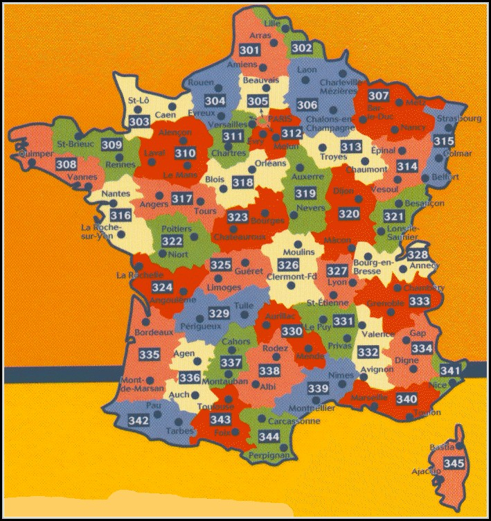 Michelin Maps France