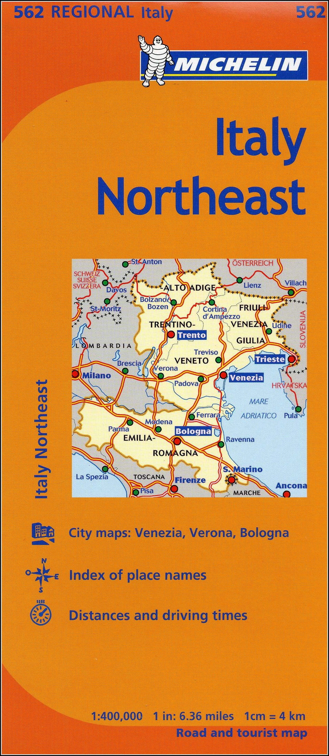 Michelin Maps Italy