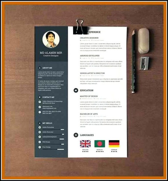 Modern Resume Template Word Free Download