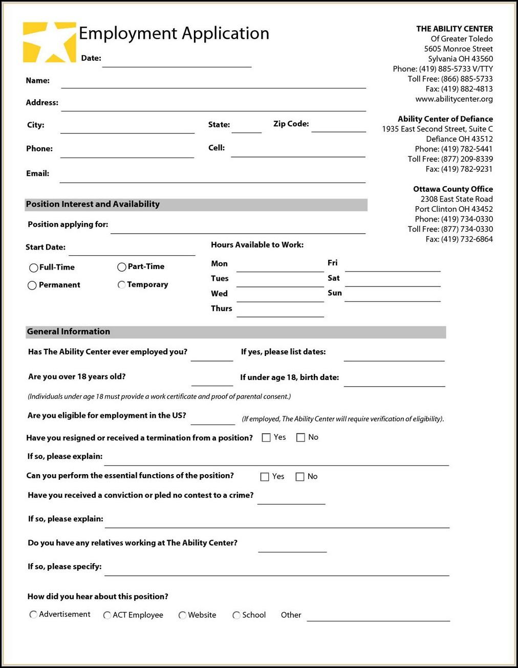Payless Jobs Application
