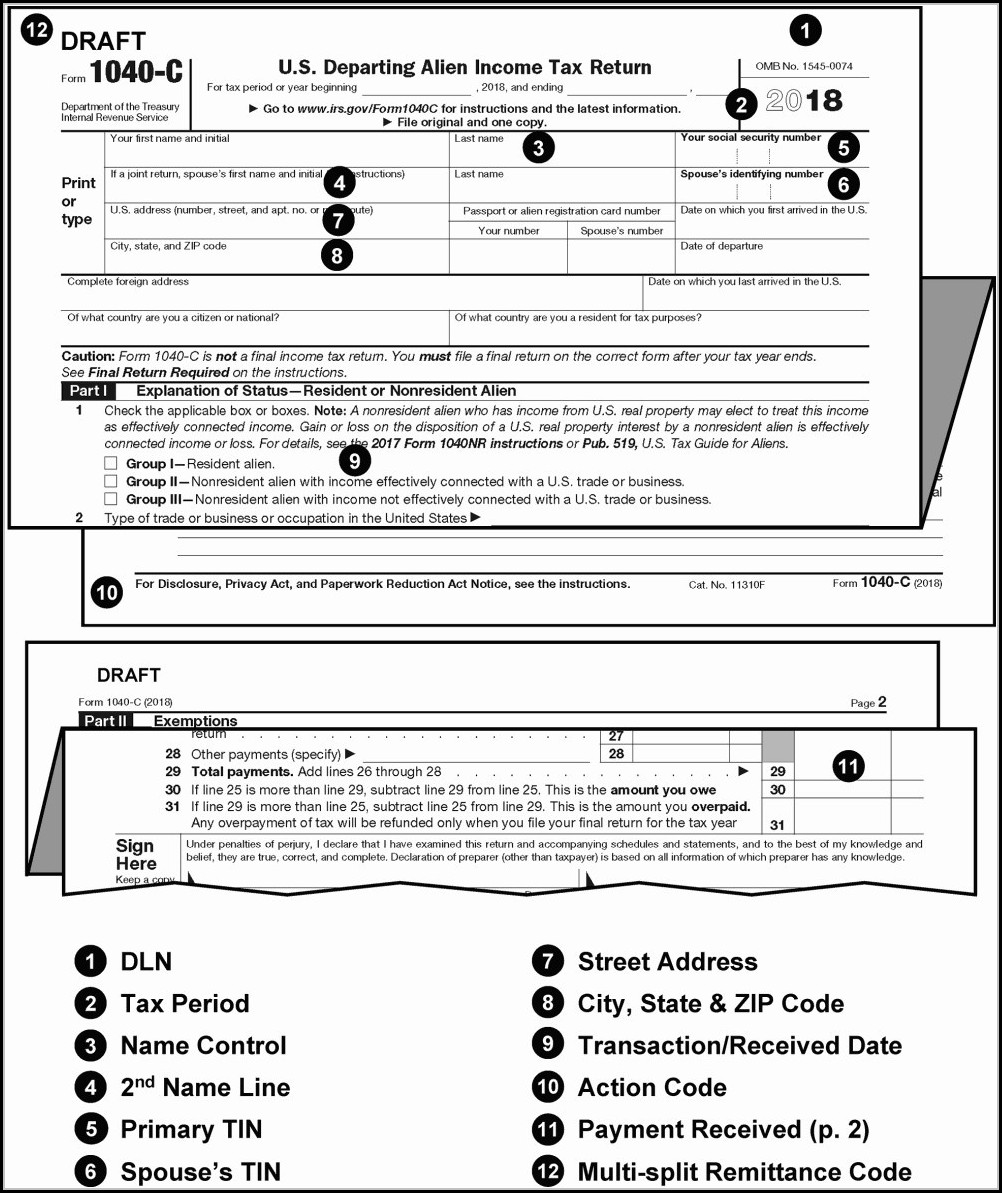 Printable Irs Forms