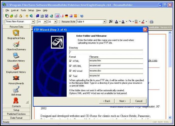 Resume Maker Software Download