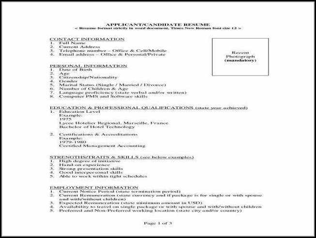 Resumes For Nurses With Experience
