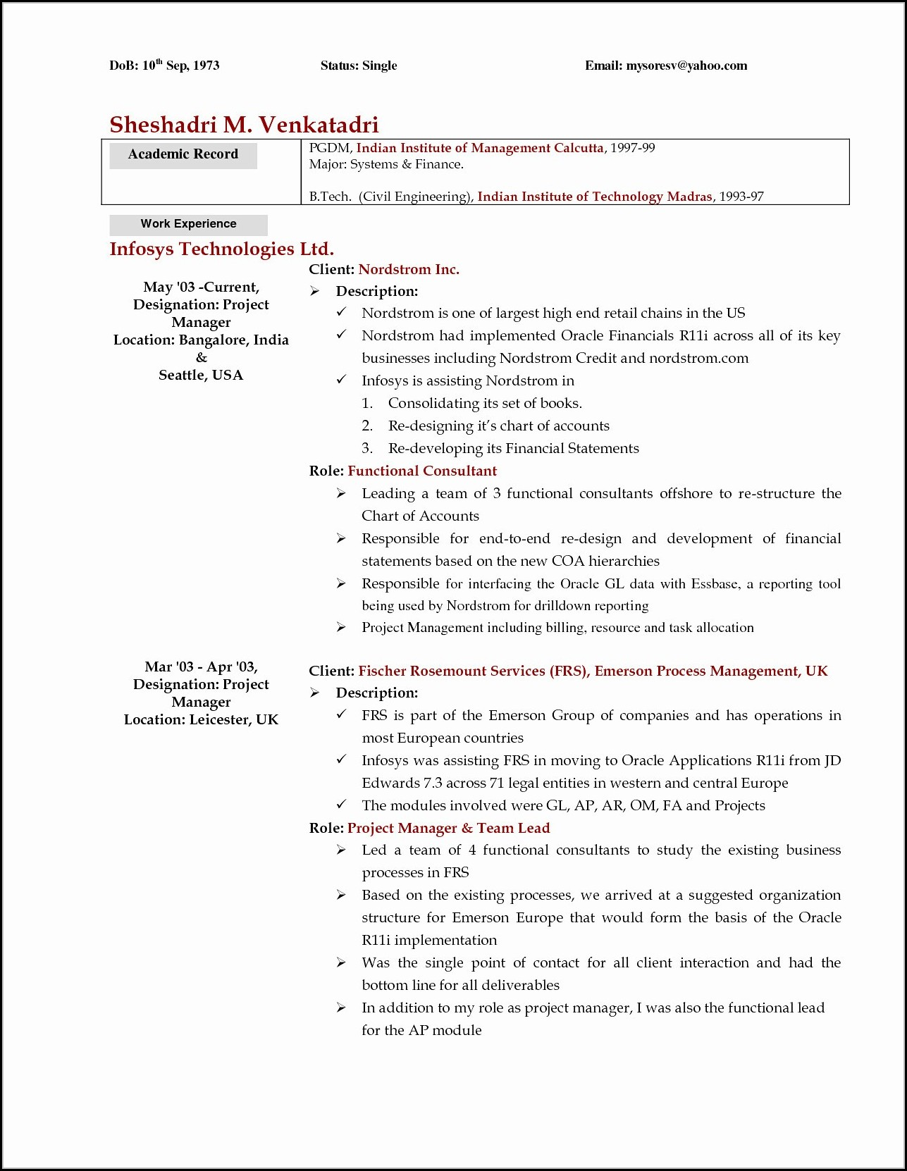 Rn Resume Templates Free