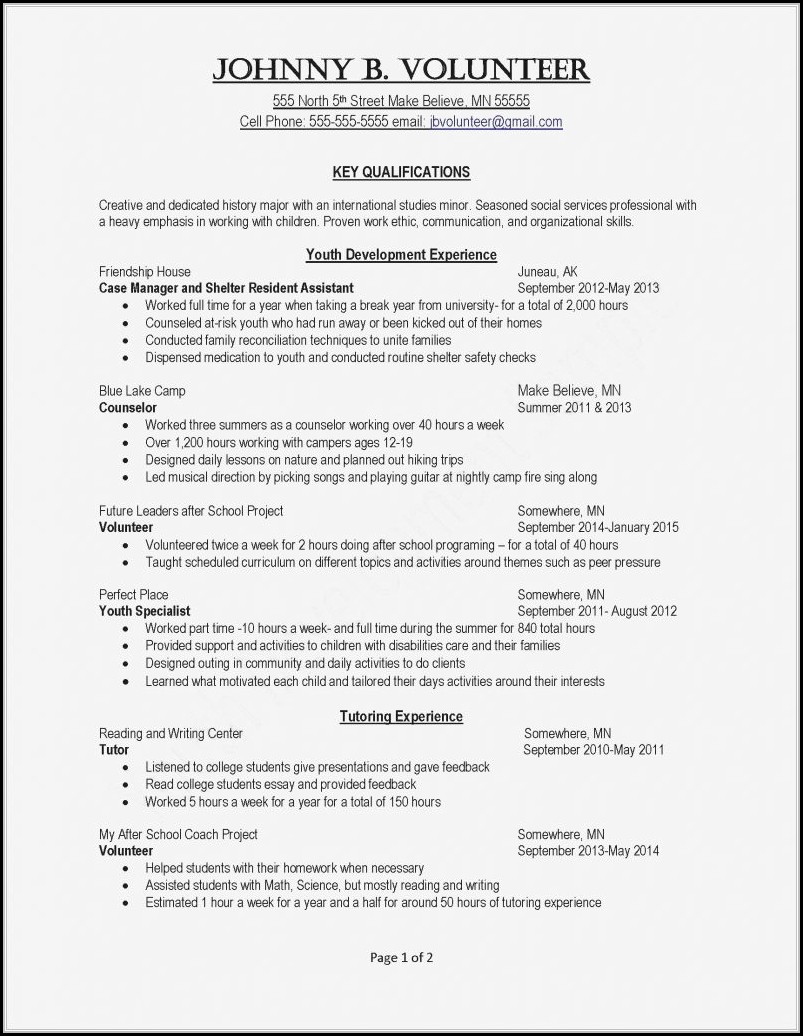 Successful Resume Writing Tips