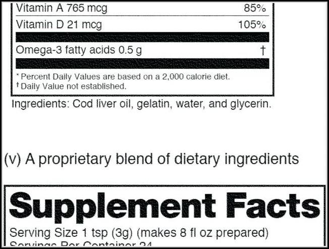 Vitamin Water Label Template Download