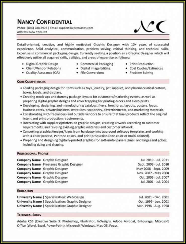 All Types Of Resumes Free Download