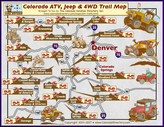 Atv Trail Maps Colorado