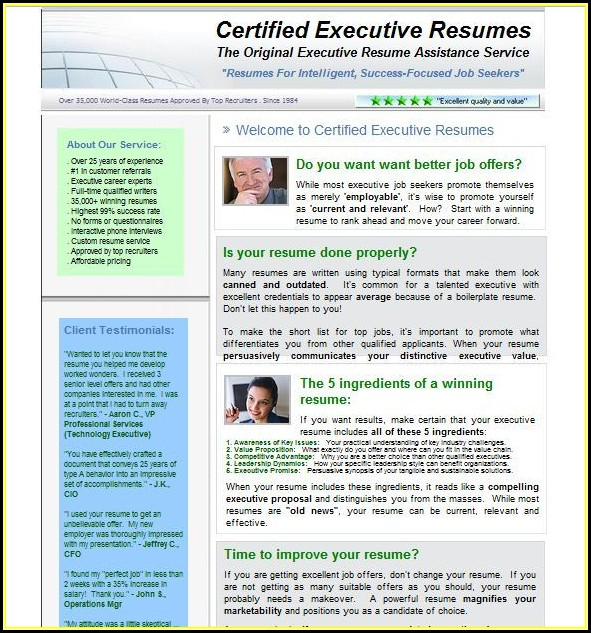 Best Executive Cv Writing Service Uk