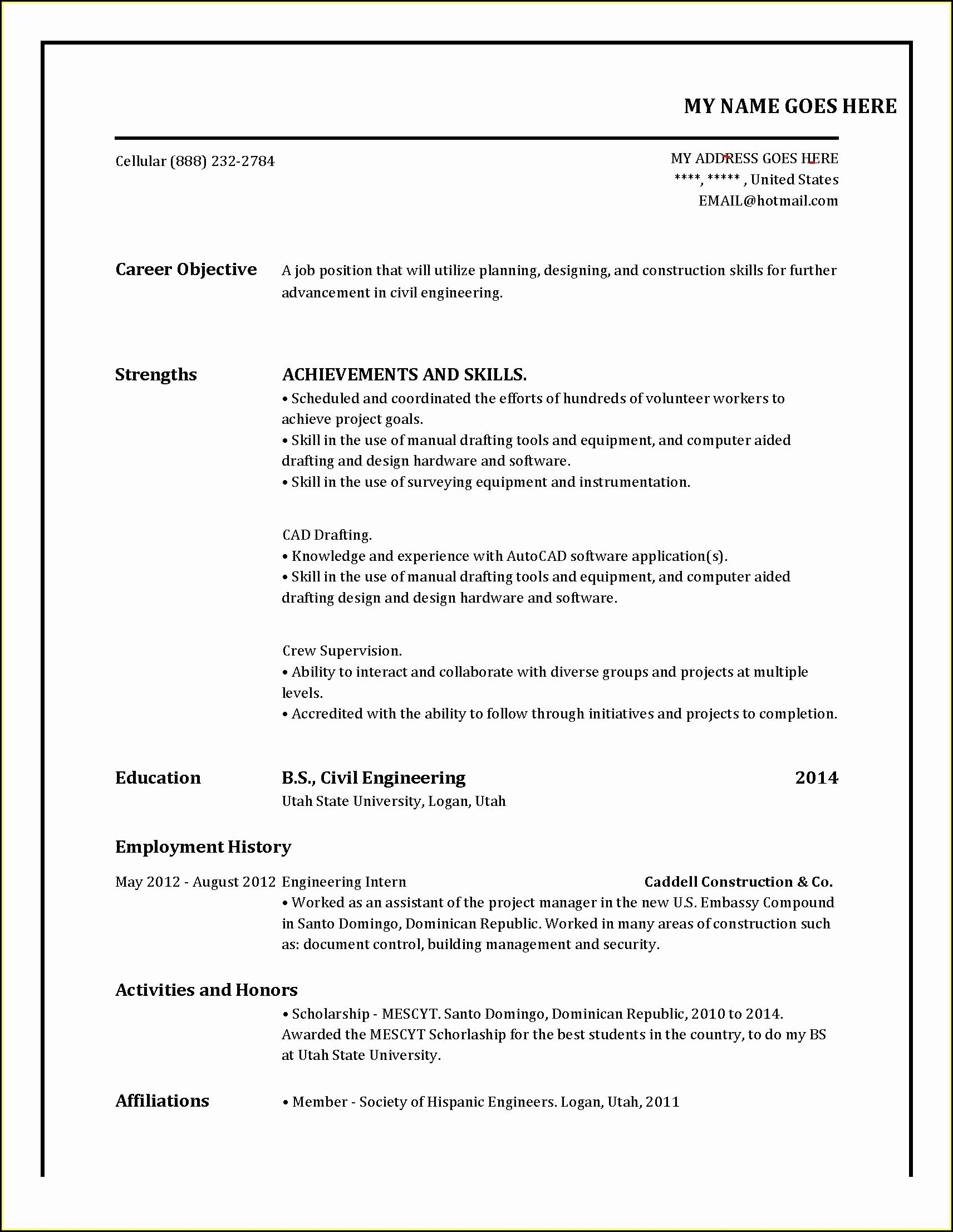 Completely Free Resume Builder Online
