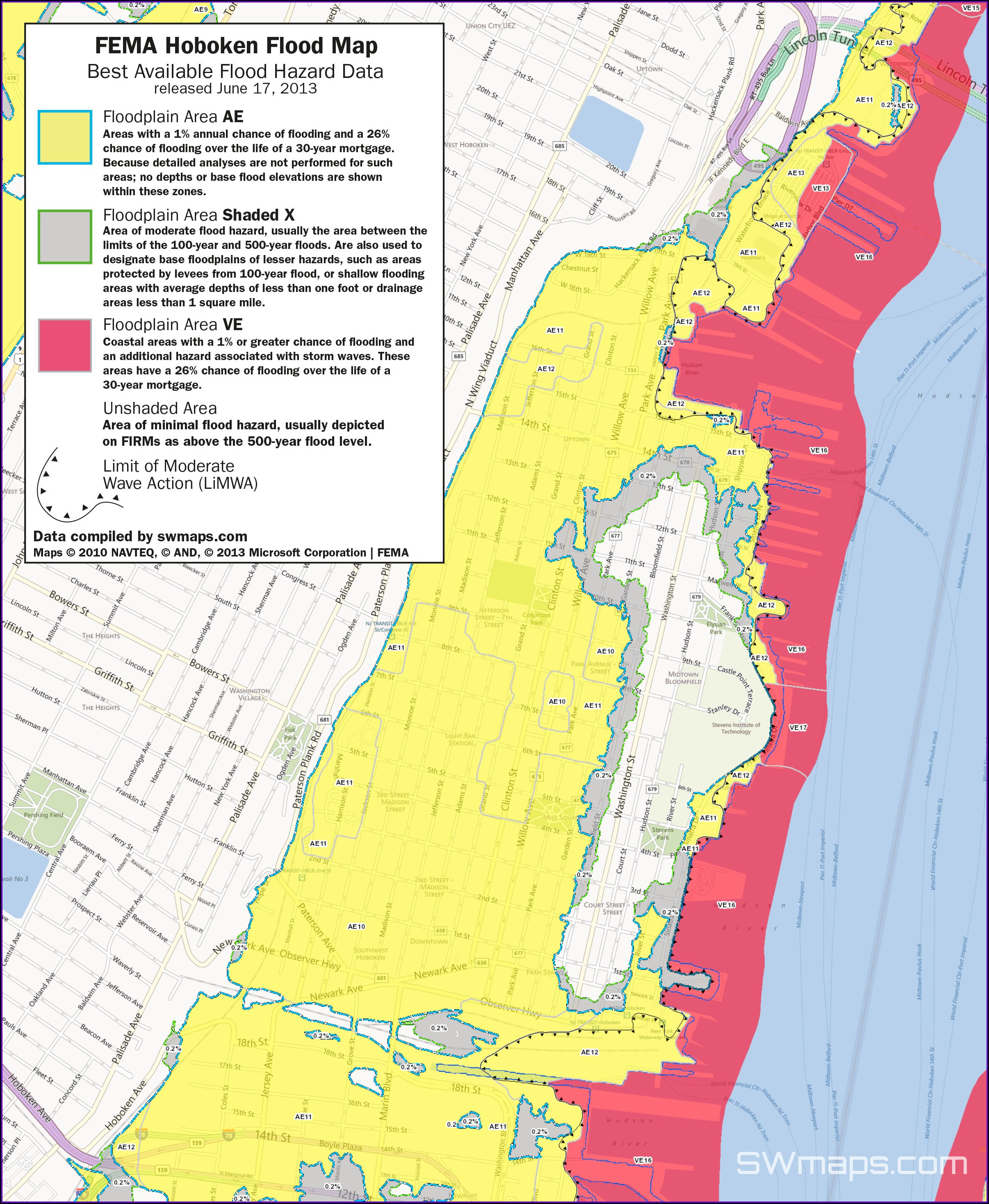 Flood Map Of New Jersey