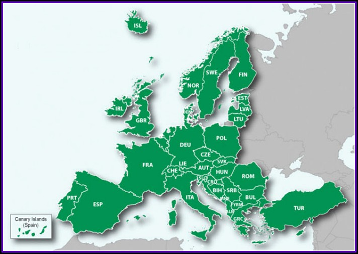 Garmin European Map Coverage
