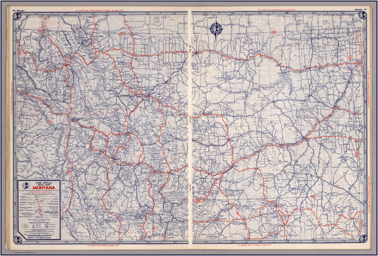 Rand Mcnally Road Map