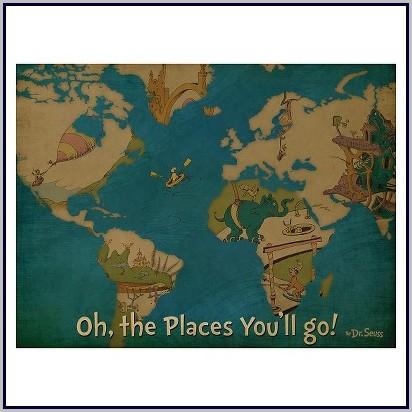 World Map Blanket Target