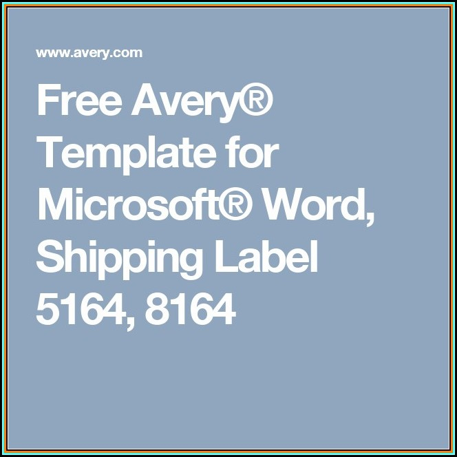 Avery Round Label Template 22818