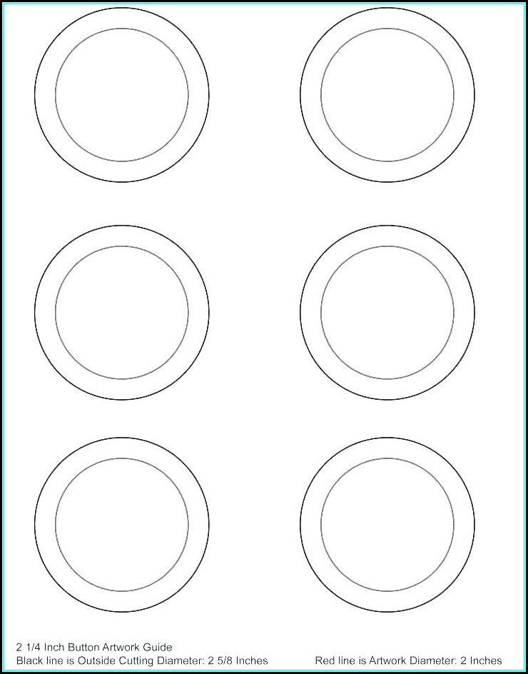 Avery Round Label Template 22824