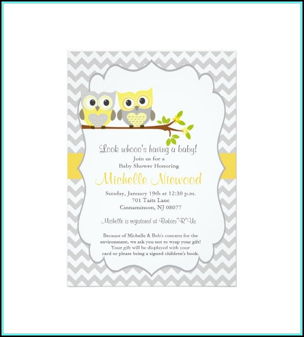 Baby Shower Card Templates