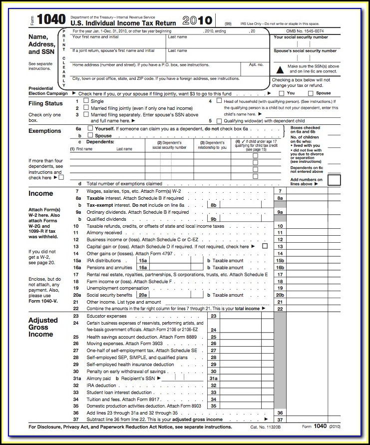 Nj Income Tax Forms 1040ez