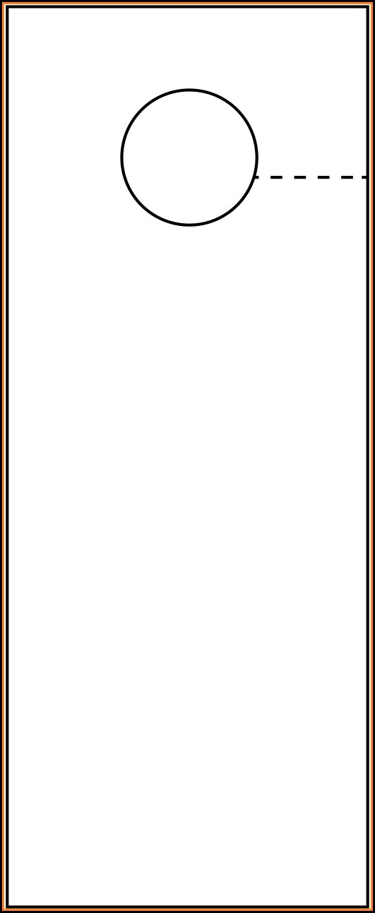 Door Hanger Template Pdf
