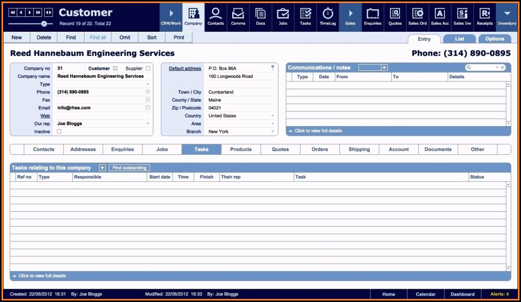 Filemaker Pro Accounting Template