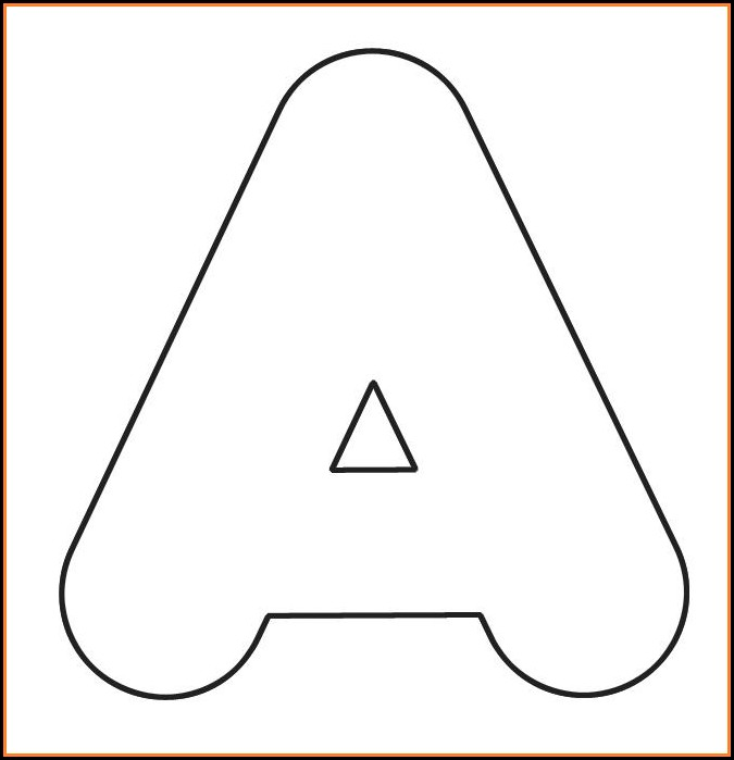 Free 2 Inch Printable Letter Templates