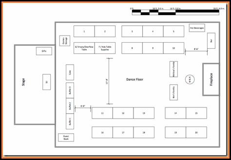 Free Banquet Floor Plan Template