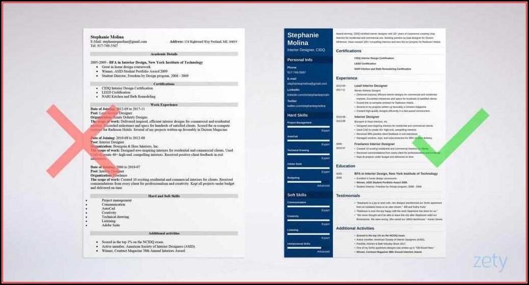Free Creative Resume Templates Microsoft Word Download
